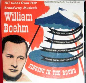 Bill Boehm Musicarnival record album