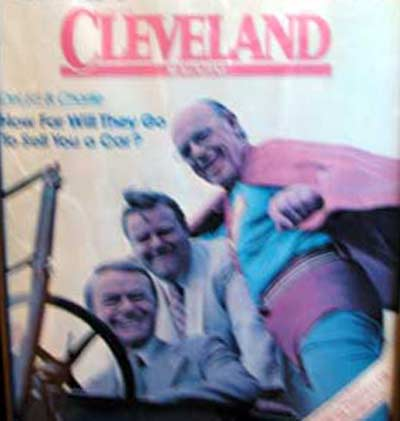 Cleveland Magazine cover with Del Spitzer, Ed Stinn and C Miller