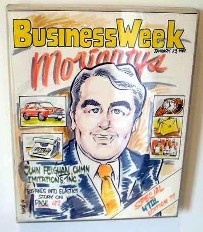 Remember Moriartys?  John Feighan Business Week magazine cover